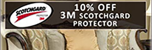 $10 Off Scotchgard Upholstery Protector Treatment Coupon